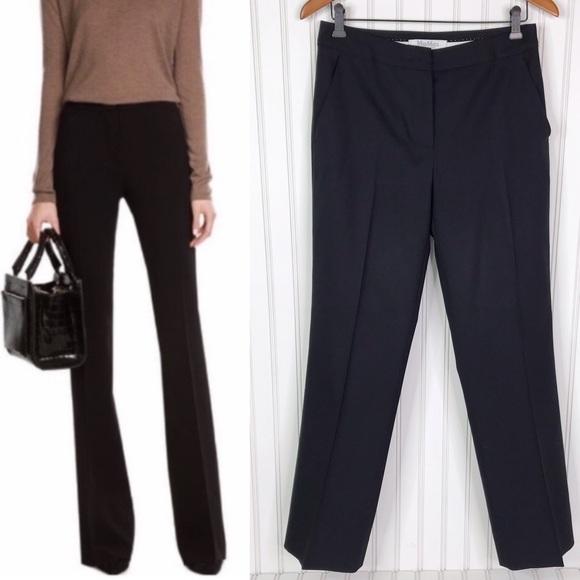 MaxMara Pants - MaxMara Wool Silk Blend Dress Career Pants Size 6